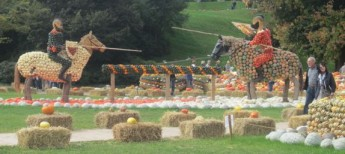 Gourds covering knights & horses